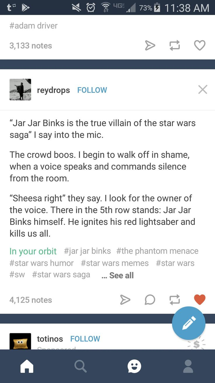 """Ok never in my life do I want anything to do with """"Darth jar jar"""" but this was too funny"""