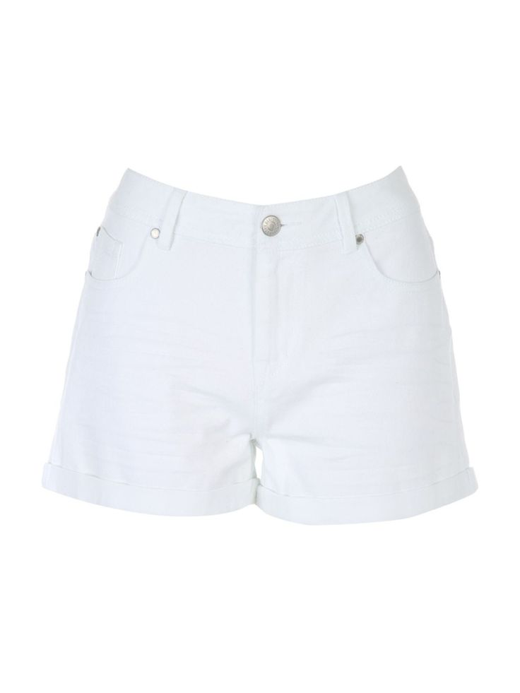 Womens White Denim Shorts | Peacocks