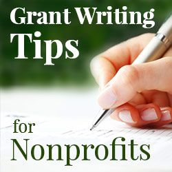 grant writing tips for nonprofits