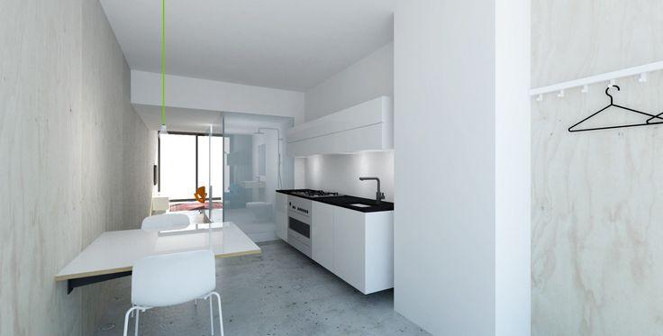 Perspective design studio (klushuis) De Flat, Kleiburg Bijlmer Amsterdam