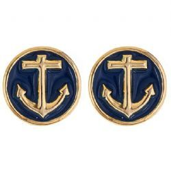 Fornash- Cute Preppy Anchor Earrings - www.itsagirlthingmonograms.com (soon to come!)