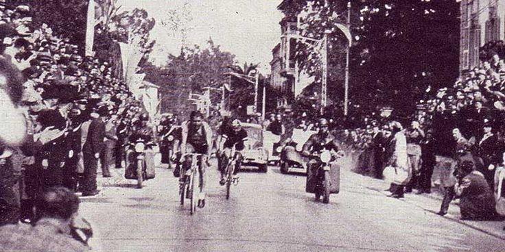 Il 14 aprile 1907 si tenne la prima edizione della Milano-Sanremo. È una fredda e piovosa mattina di aprile. La partenza dalle 4.30 slitta alle 5.15, ma solo 33 dei 62 iscritti sono pronti, all'Osteria della Conca Fallata (alla periferia di Milano lungo il Naviglio Pavese), per dare inizio alla prima corsa famosa