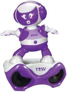 TOSY Robotics: DiscoRobo Toy with Voice and Sound Stage, Purple