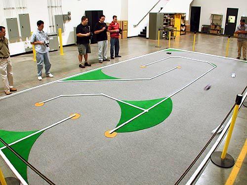 pvc rc track