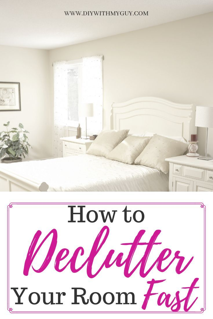 How to declutter your room fast mom ideas declutter - How to declutter your bedroom fast ...