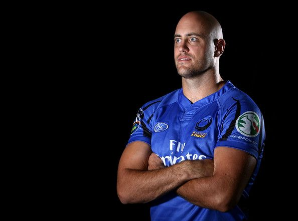 Nathan Sharpe Photos Photos - Nathan Sharpe poses for a photo during a Western Force Super 14 portrait session held at the Rugby WA offices January 11, 2008 in Perth, Australia. - Western Force Portrait Session