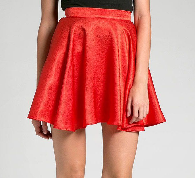 Rose Skirt LO by Lovita Hilman. Bright red skirt with flare design, made from good material, perfect for a casual style. An elegant mini flare skirt that always everlasting in fashion history! Pair this with simple elegant blouse and heels!  http://www.zocko.com/z/JICNb