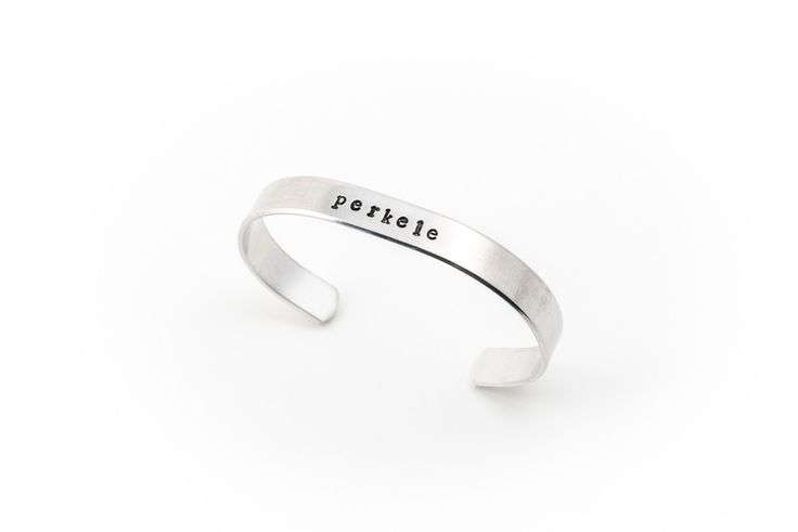 "Image of ""perkele"" bracelet 136"