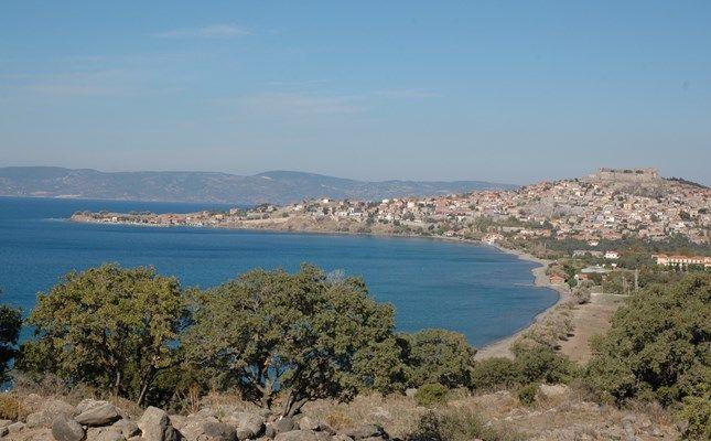 Γενική άποψη της Μήθυμνας #Greece #travel