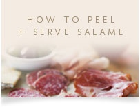 How To Peel and Serve Salame