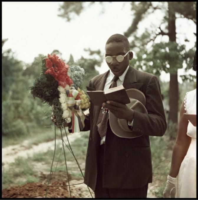 Gordon Parks at Shady Grove, Alabama