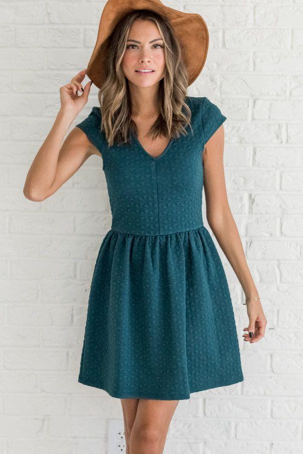 Two Hearts One Dream Teal Dress - Bella Ella Boutique Online Store ... bae4999123e4