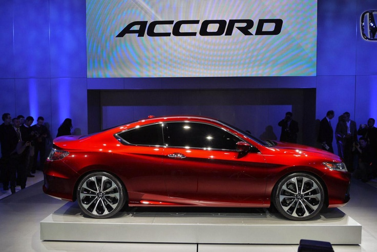 Honda Accord Coupe Concept 2013–года