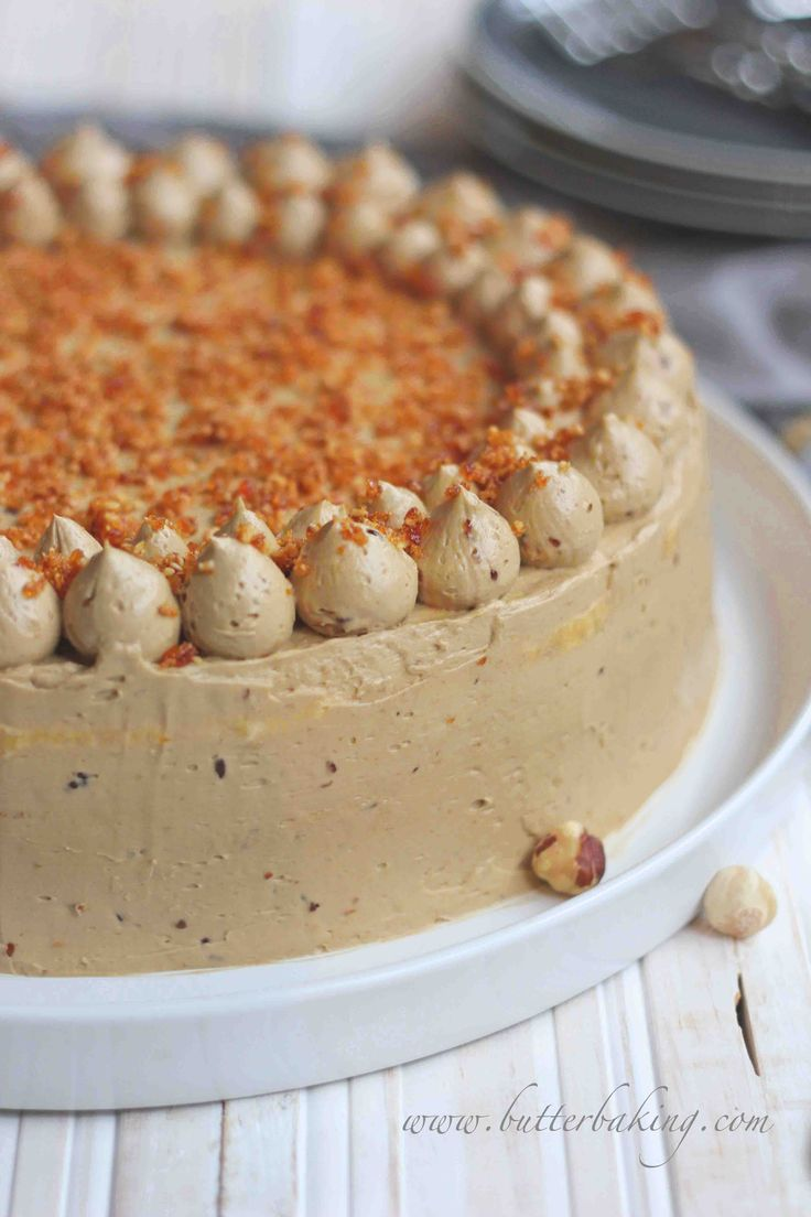 Coffee and Hazelnut Dacquoise | Butter Baking
