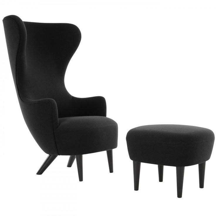 Het #TomDixon Wingback Black #fauteuil is verkrijgbaar in diverse kleursamenstellingen. Het fauteuil is gemaakt van #stof. De Wingback #Chair is verkrijgbaar in verschillende stofsoorten en met 2 verschillende onderstellen, in #zwart of #koper Verkrijgbaar bij #Flindersdesign #wonen #interieur #woonkamer #stoel #design #modern #trend