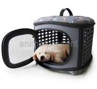 transporter - składany elegancki kuferek dla psów   unikalna konstrukcja i estetyczne wykonanie nieprzemakalny materiał  #psy #psów #transporter #kosz #podróży
