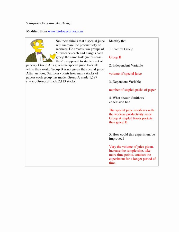 Experimental Variables Worksheet Answers New 6 Best Of