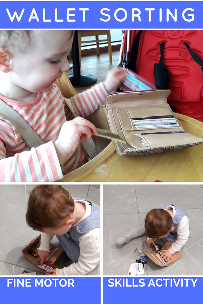 top learning toys for toddlers include fine motor skills activities like wallet sorting