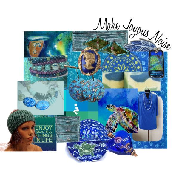 Make Joyous Noise! by rescuedofferings on Polyvore featuring Julio and EtsySpecialT