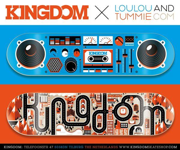 Loulou & Tummie X Kingdom by Loulou and Tummie , via Behance