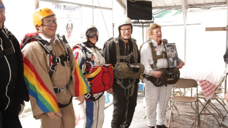 2015 SKYDIVING MUSEUM & HALL OF FAME weekend celebration - Episode #2. Check out the fashion show of Skydiving equipment true the years. More coming up. #skydivetv #skydivingmuseum #paragear #sunpath #sskinc #cypres #skydivinghalloffame2015