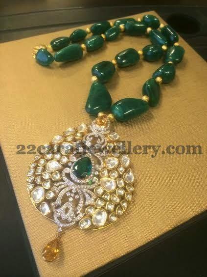 Jewellery Designs: Exclusive Jewellery by Ambar Pariddi