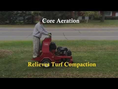Core Aeration | Fall Lawn Care