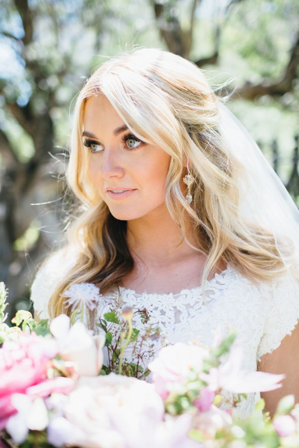 Dancing With The Stars Pro Lindsay Arnold's Lace Wedding Dress: http://www.stylemepretty.com/2015/11/09/dancing-with-stars-pro-lindsay-arnolds-utah-wedding/ | Photography: Jessica Janae - http://www.jessicajanaephotography.com/