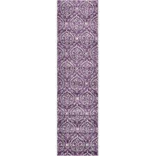 Runner Purple Area Rugs | Wayfair