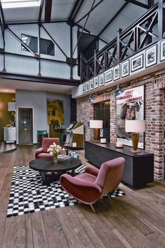 Loft Interior Rebuilt Designed After The Victorian Industrial Style Classy