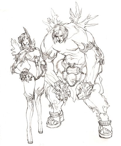 ブレイド&ソウル(Blade&Soul)・2011091101-オンラインゲームニュース
