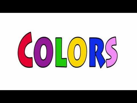 Colors - Talking Flashcards