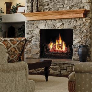 Fiberglow™ VF18- GVFL18 Vent Free Gas Log set. Also available in 24 and 30