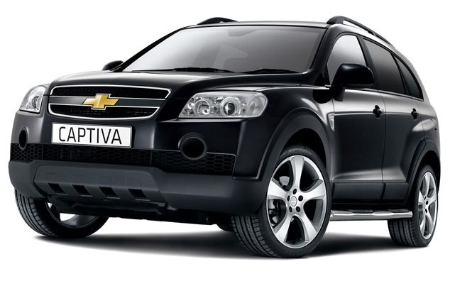 Chevrolet Captiva kendaraan SUV AWD rakitan Korea Selatan