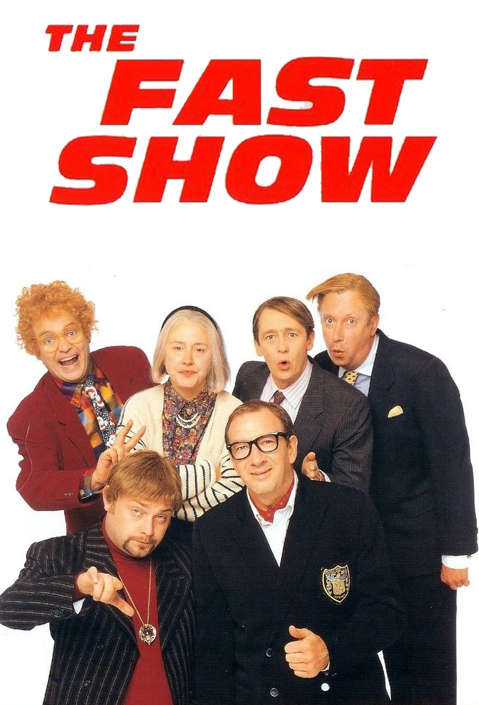 "The Fast Show (1994-1997) ""Suits you sir"" and ""scorchio"" just a few of their catchphrases, a great tv show!"
