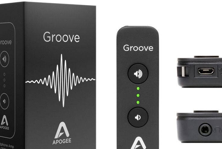 Apogee Groove USB Headphone Amp Now Available
