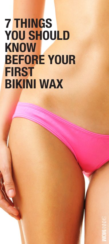 Tips for first bikini wax