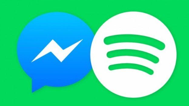 Facebook integra Spotify in Messenger per la condivisione della musica