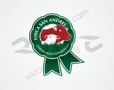 Diseño de logotipo para empresa importadora y distribuidora de carne para la Comunidad Europea. Finca San Andrés (Uruguay)