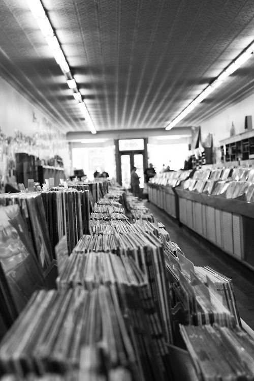 This record store was 50+ years old in a building that was 100+ years old. The guy running it had been there since he was 20 years old… he is now 62 - Location: on Broadway in Nashville, TN