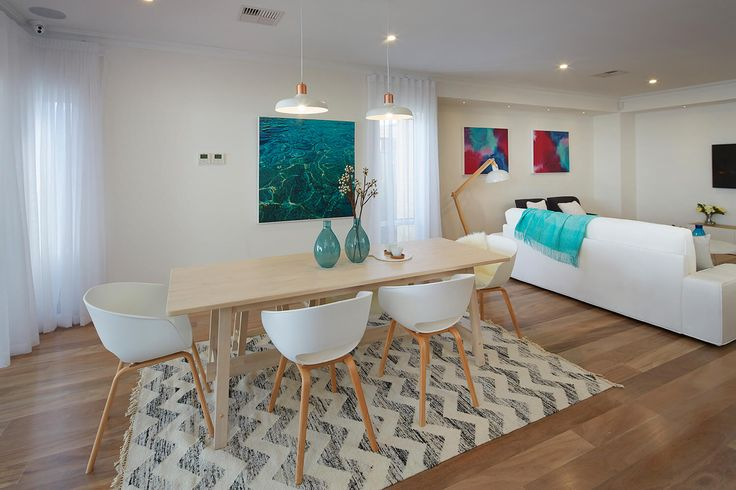 The Belvoir display home Hilbert, Perth. Dining room