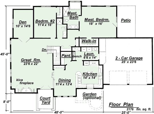 13 best images about floor plans on pinterest for Adobe home plans