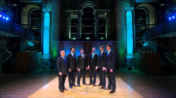 'You Are The New Day (Born on a New Day)) - sung a cappella by The King's Singers