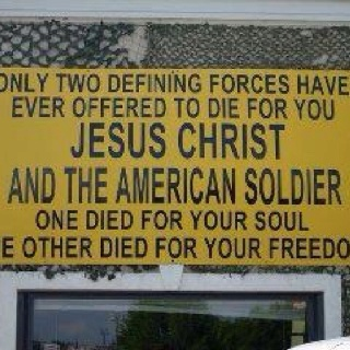 Jesus and U.S. Military , THANK GOD!                              …