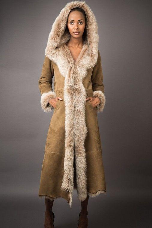 Best 10  Shearling coat ideas on Pinterest | Shearling jacket ...