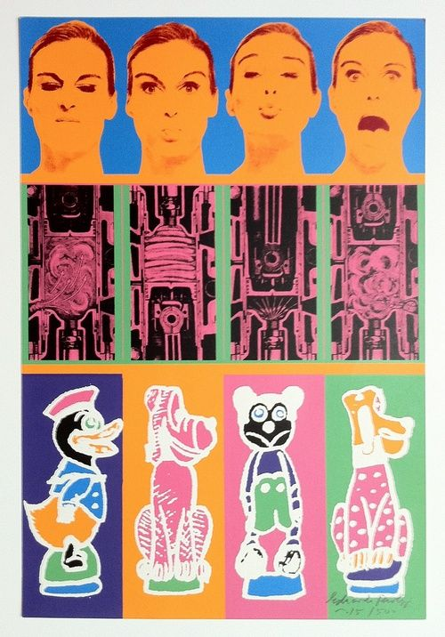 Secrets of the internal combustion engine (1967) by Eduardo Paolozzi