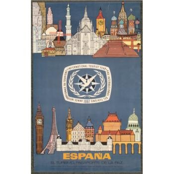54 best Vintage Spain Travel Posters images on Pinterest
