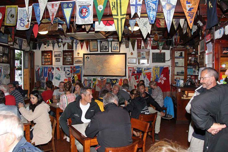 Peter's Café Sport, Horta, Faial, Azores. Photo by Leila Monteiro Lins. DISCOVER magazine.
