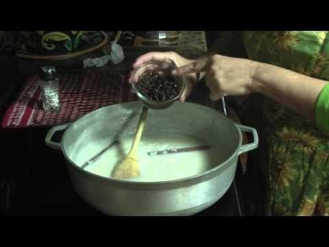 Puerto Rican Coconut Rice Pudding  Arroz con Dulce Puertoriqueño  Nydia's Miami Kitchen (Youtube)