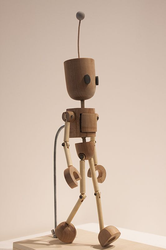 """One Small Step"" Robot Puppet by Jackie Cadiente, via Behance"